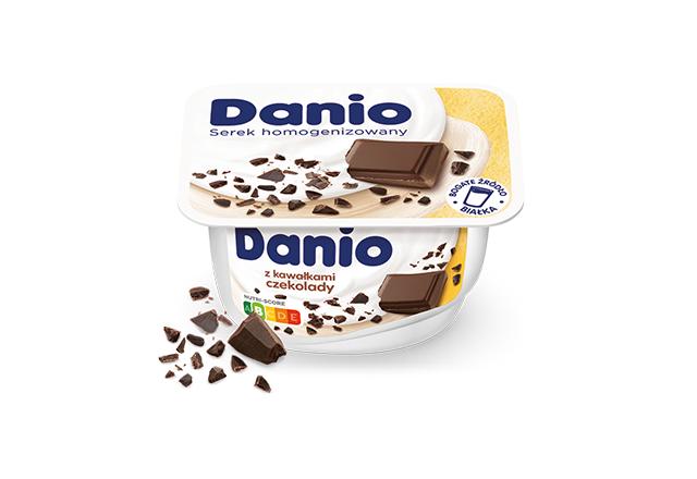 Serek homogenizowany Danio z czekoladą