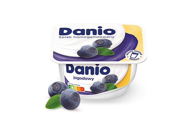 Serek homogenizowany Danio jagodowy