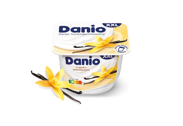 Serek homogenizowany Danio o smaku waniliowym XXL