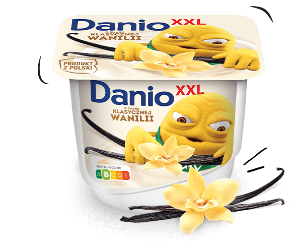 Danio XXL waniliowy