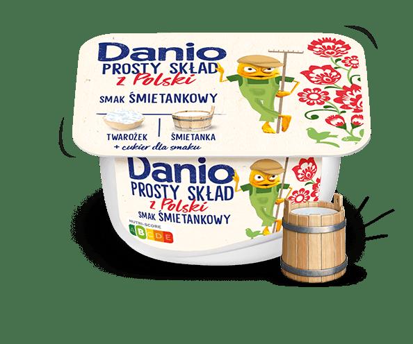 Danio Prosty Smak o smaku Śmietankowym