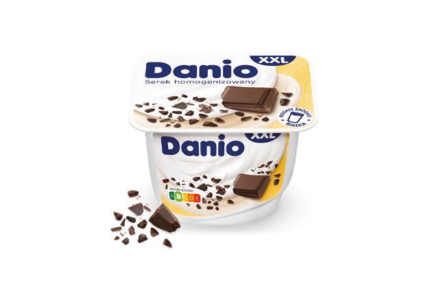 Serek homogenizowany Danio z czekoladą XXL