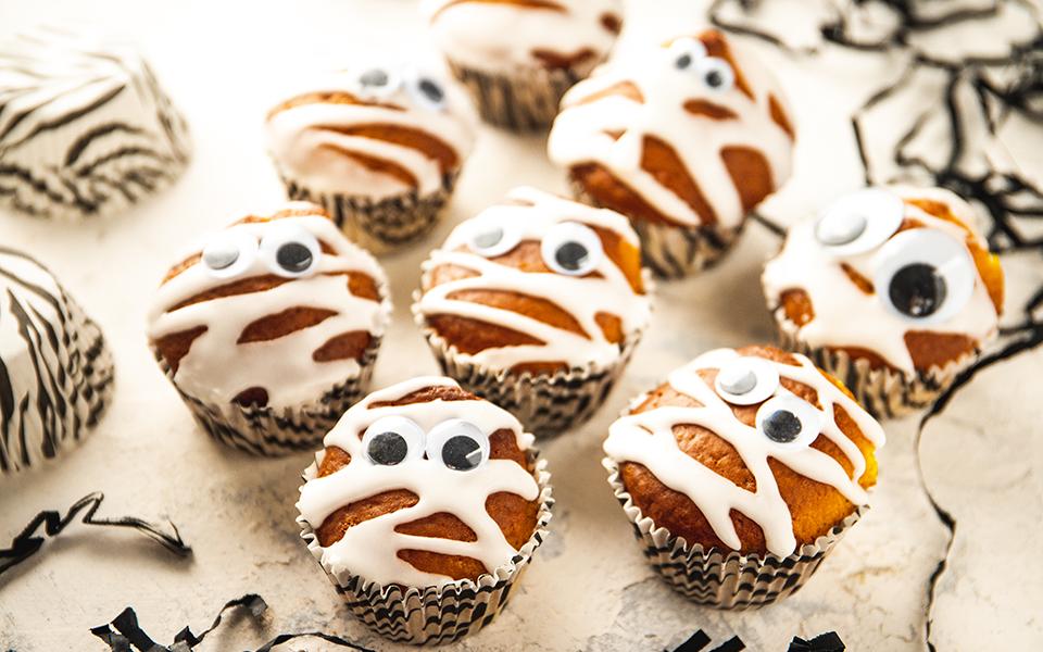 Muffinki dyniowe z serkiem homogenizowanym