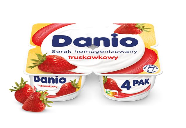 Danio o smaku truskawkowym