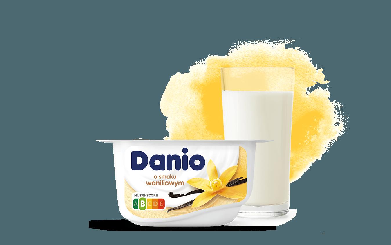 Danio o smaku waniliowym